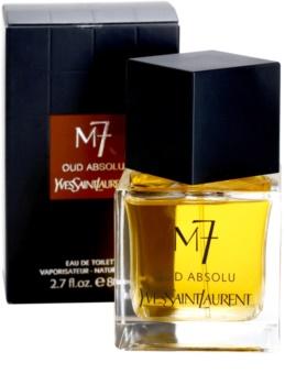 Yves Saint Laurent M7 Oud Absolu toaletní voda pro muže 80 ml
