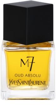 Yves Saint Laurent M7 Oud Absolu eau de toilette per uomo 80 ml