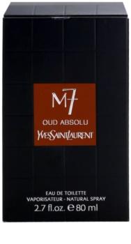 Yves Saint Laurent La Collection M7 Oud Absolu toaletní voda pro muže 80 ml