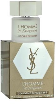 Yves Saint Laurent L'Homme Cologne Gingembre eau de cologne pentru barbati 60 ml