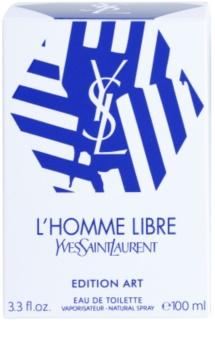 Yves Saint Laurent L'Homme Libre Art Edition Eau de Toilette für Herren 100 ml