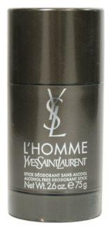 Yves Saint Laurent L'Homme desodorante en barra para hombre 75 g