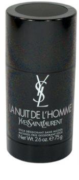 Yves Saint Laurent La Nuit de L'Homme Deodorant Stick voor Mannen 75 ml