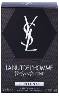 Yves Saint Laurent La Nuit de L'Homme L'Intense eau de parfum pentru barbati 100 ml