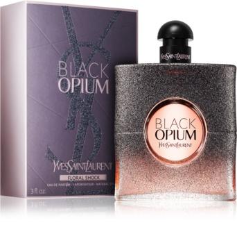 Yves Saint Laurent Black Opium Floral Shock eau de parfum nőknek 90 ml