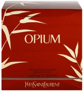 Yves Saint Laurent Opium 2009 Körpercreme für Damen 200 ml