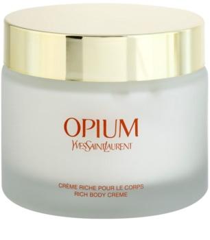 Yves Saint Laurent Opium crème corps pour femme 200 ml