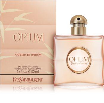 Yves Saint Laurent Opium Vapeurs de Parfum eau de toilette pour femme 50 ml