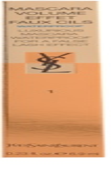 Yves Saint Laurent Mascara Volume Effet Faux Cils Waterproof řasenka pro objem voděodolná
