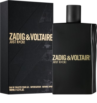 Zadig & Voltaire Just Rock! eau de toilette per uomo 100 ml