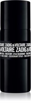 Zadig & Voltaire This Is Him! Deo Spray voor Mannen 150 ml