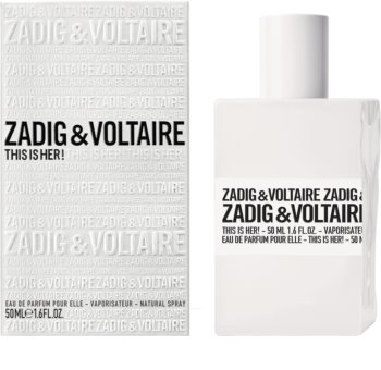 Zadig & Voltaire This Is Her! woda perfumowana dla kobiet 50 ml