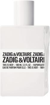 Zadig & Voltaire This is Her! eau de parfum hölgyeknek 100 ml