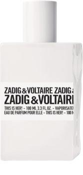 Zadig & Voltaire This is Her! eau de parfum para mujer 100 ml
