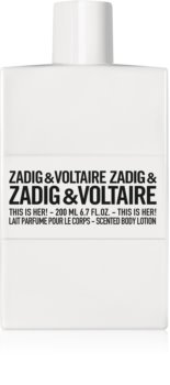 Zadig & Voltaire This Is Her! latte corpo per donna 200 ml