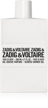 Zadig & Voltaire This is Her! Duschtvål for Women 200 ml