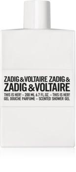Zadig & Voltaire This is Her! gel de douche pour femme 200 ml