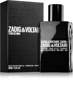 Zadig & Voltaire This Is Him! Eau de Toilette für Herren 50 ml