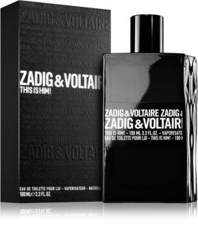 Zadig & Voltaire This Is Him! eau de toilette férfiaknak 100 ml