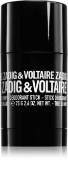 Zadig & Voltaire This Is Him! deostick pentru barbati 75 g