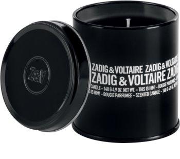 Zadig & Voltaire This is Him! lumânare parfumată  pentru bărbați 140 ml