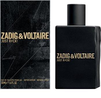 Zadig & Voltaire Just Rock! Pour Lui toaletní voda pro muže 50 ml
