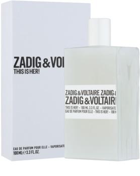 Zadig & Voltaire This Is Her! woda perfumowana dla kobiet 100 ml