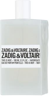 Zadig & Voltaire This Is Her! eau de parfum pour femme 100 ml