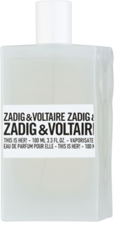 Zadig & Voltaire This Is Her! parfumska voda za ženske 100 ml