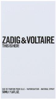 Zadig & Voltaire This Is Her! Parfumovaná voda pre ženy 50 ml