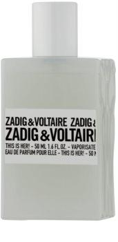 Zadig & Voltaire This Is Her! dárková sada I.