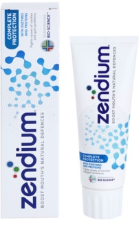 Zendium Complete Protection dentifrice pour des dents et gencives saines