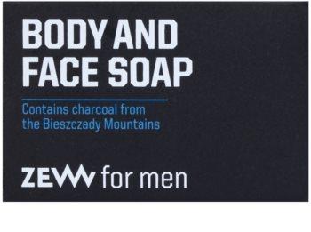 Zew For Men sabão natural em barra para corpo e rosto