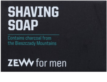 Zew For Men jabón natural en barra para el afeitado