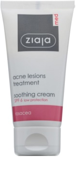 Ziaja Med Acne Lesions Soothing And Moisturizing Cream SPF 6