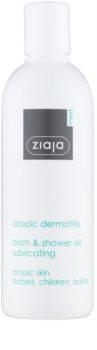Ziaja Med Atopic Dermatitis Care олійка для ванни та душа для атопічної шкіри дітей та дорослих