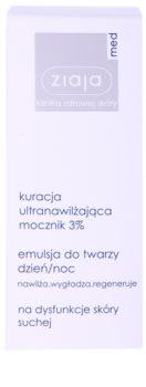 Ziaja Med Ultra-Moisturizing with Urea creme hidratante e regenerador com efeito alisador