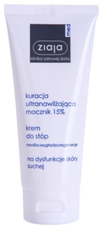 Ziaja Med Ultra-Moisturizing with Urea creme regenerador para pés com efeito hidratante para pele calejada