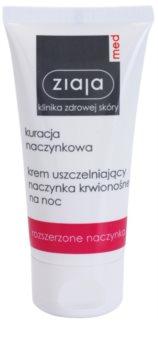 Ziaja Med Capillary Care Versterkende Nachtcrème tegen het Barsten en Nieuwe Vorming van Verwijde Adertjes Couperose