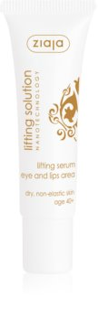 Ziaja Lifting Solution Lifting Serum For Eye Area And Lips