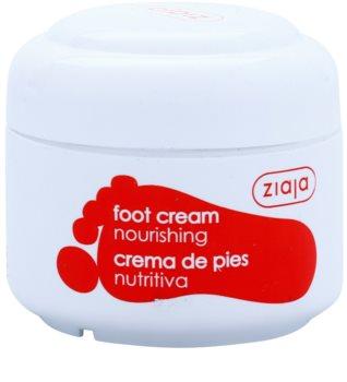 Ziaja Foot Care creme nutritivo de pés para diabéticos