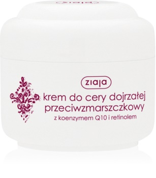 Ziaja Basic Care Antifalten-Tagescreme mit dem Coenzym Q10