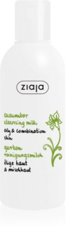 Ziaja Cucumber Cleansing Milk for Oily and Combination Skin