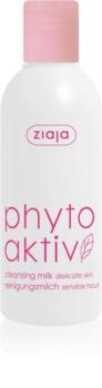 Ziaja Phyto Aktiv lait démaquillant pour peaux sensibles sujettes aux rougeurs