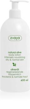 Ziaja Natural Olive lotiune de corp cu extras din masline