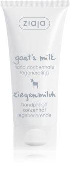 Ziaja Goat's Milk Cremă de mâini regeneratoare pentru pielea uscata sau foarte uscata