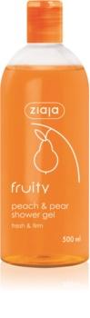 Ziaja Fruity Peach & Pear osviežujúci sprchový gél