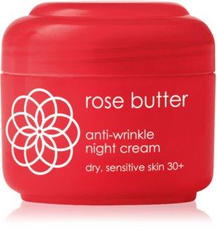 Ziaja Rose Butter protivráskový noční krém 30+