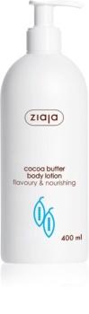 Ziaja Cocoa Butter leite corporal nutritivo  com manteiga de cacau