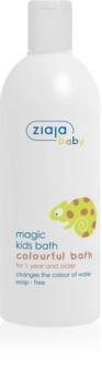Ziaja Baby pena za kopel, ki spreminja barvo za otroke od 12 mesecev
